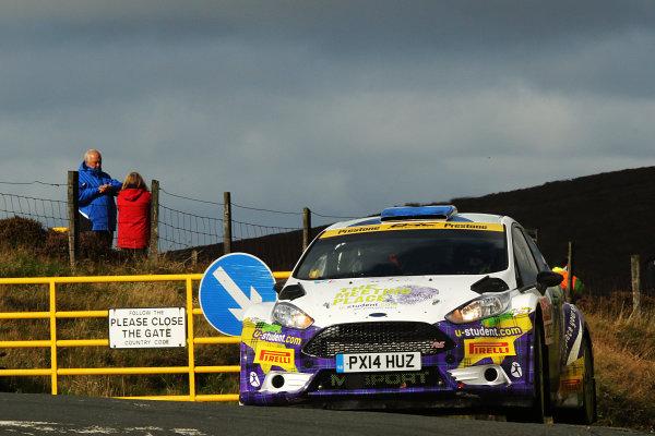 2017 Prestone MSA British Rally Championship, Rally Isle of Man. 14th - 16th September 2017. Alex Laffey / Patrick Walsh Ford Fiesta. World Copyright: JEP/LAT Images