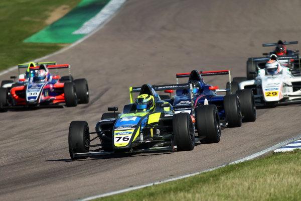 2017 British F4 Championship, Rockingham, 26th-27th August 2017, Linus Lundqvist (SWE) Double R Racing British F4  World copyright.. JEP/LAT Images