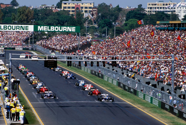 Albert Park, Melbourne, Australia.