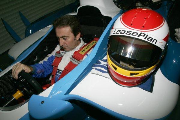 2007 GP2 Series. Round 11.Valencia, Spain. 30th September.Sunday Warm Up. Adrian Campos, Campos Grand Prix team principal drives the GP2 Series development car.World Copyright: Drew Gibson/GP2 Series Media Service.