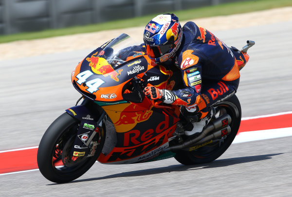 2017 Moto2 Championship - Round 3 Circuit of the Americas, Austin, Texas, USA Friday 21 April 2017 Miguel Oliveira, Red Bull KTM Ajo World Copyright: Gold and Goose Photography/LAT Images ref: Digital Image Moto2-500-2156