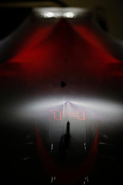 Suzuka Circuit, Suzuka, Japan.  Saturday 26 September 2015. A McLaren MP4-30 Honda under Parc Ferme conditions. World Copyright: Alastair Staley/LAT Photographic ref: Digital Image _R6T1674