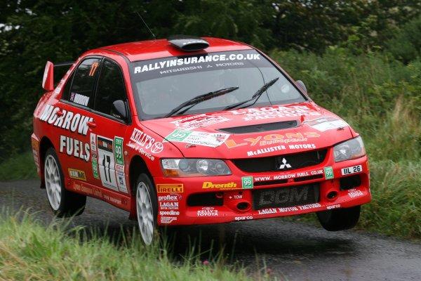 2007 British Rally Championship,Ulster Rally, Northern Ireland,31st August/1st September 2007,Philip Morrow,World Copyright: Ebrey/LAT Photographic