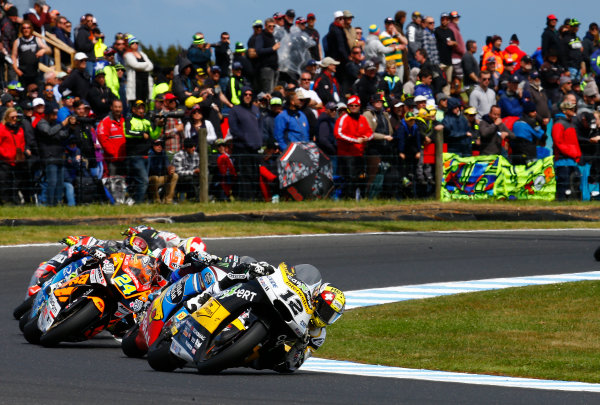 2017 Moto2 Championship - Round 16 Phillip Island, Australia. Sunday 22 October 2017 Thomas Luthi, CarXpert Interwetten World Copyright: Gold and Goose / LAT Images ref: Digital Image 24767