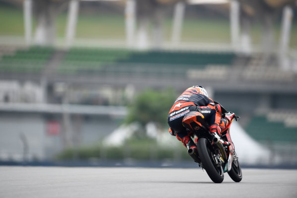 2017 Moto3 Championship - Round 17 Sepang, Malaysia. Friday 27 October 2017 Bo Bendsneyder, Red Bull KTM Ajo World Copyright: Gold and Goose / LAT Images ref: Digital Image 25056