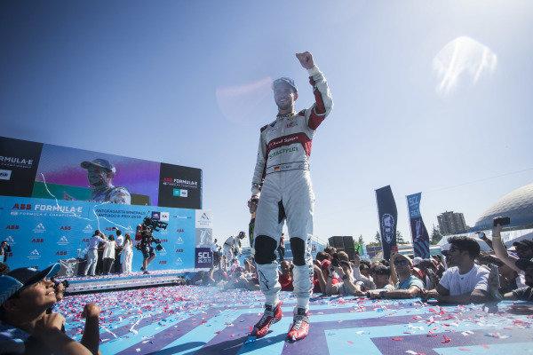 Daniel Abt (DEU), Audi Sport ABT Schaeffler celebrates on the podium
