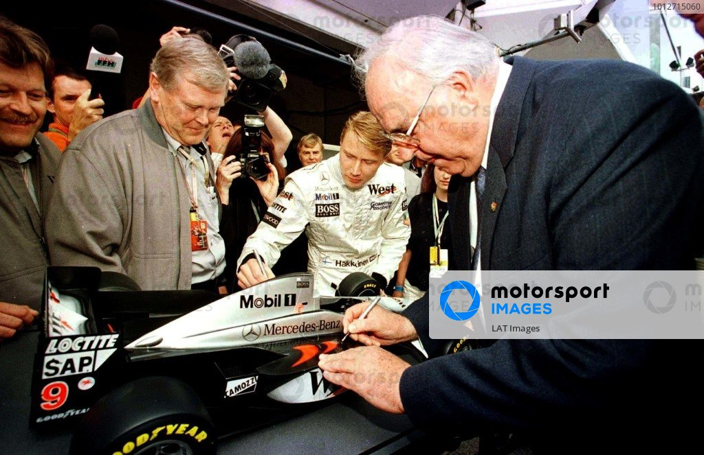 1997 Luxembourg Grand Prix.