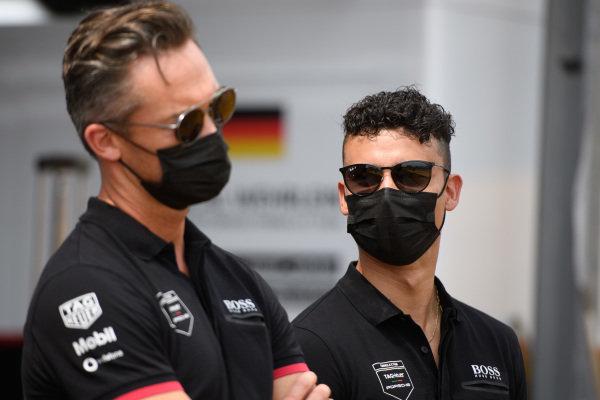 Andre Lotterer (DEU), Tag Heuer Porsche, and Pascal Wehrlein (DEU), Tag Heuer Porsche