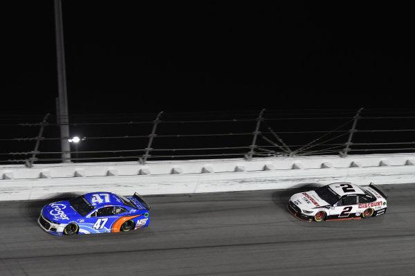 #47: Ricky Stenhouse Jr., JTG Daugherty Racing, Chevrolet Camaro Kroger/NOS Energy Drink #2: Brad Keselowski, Team Penske, Ford Mustang Discount Tire