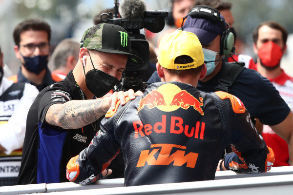 Deniz Oncu, Red Bull KTM Tech 3, Fabio Quartararo, Yamaha Factory Racing.