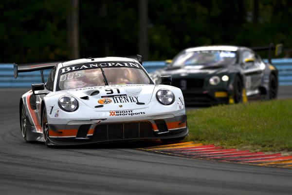 #91 Porsche 911 GT3 R (991) of Anthony Imperato and Dennis Olsen with Wright Motorsports