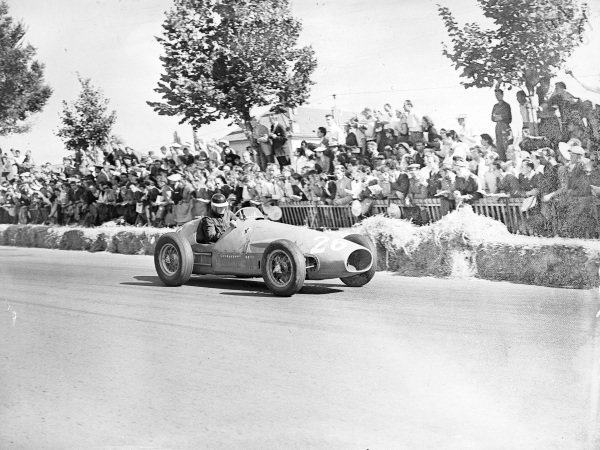 Mike Hawthorn, Ferrari 500.
