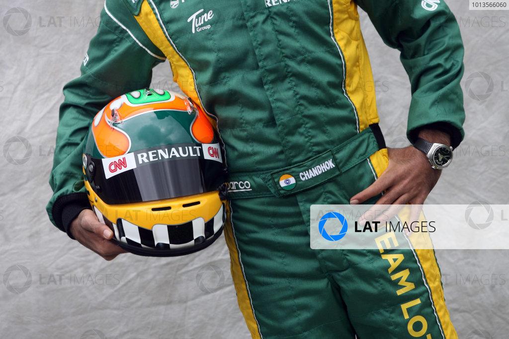 Albert Park, Melbourne, Australia24th March 2011.Karun Chandok, Team Lotus Renault T128.World Copyright: LAT Photographicref: Digital Image1_LC2412