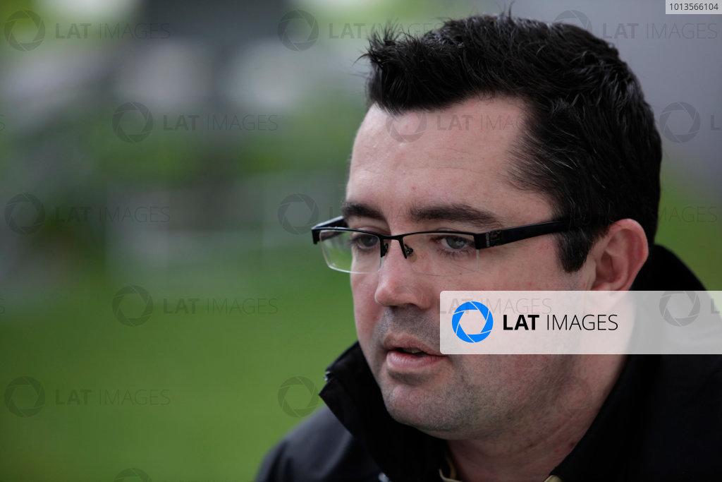 Albert Park, Melbourne, Australia 24th March 2011. Eric Boullier, Team Principal, Lotus Renault GP. Portrait.  World Copyright: Andrew Ferraro/LAT Photographic ref: Digital Image AF5D8751