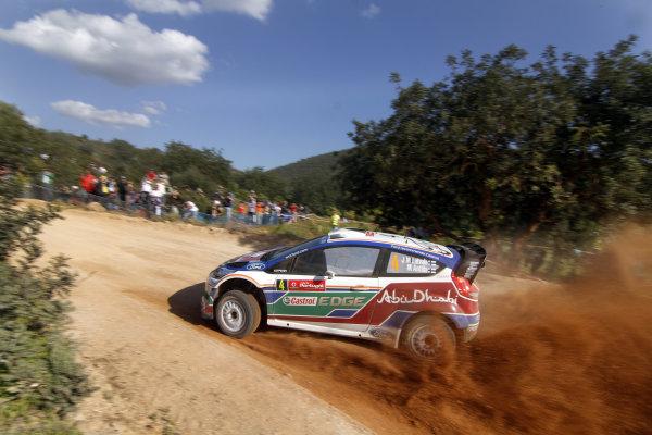 Round 03-Rally Portugal. 23th-27th March 2011.Jari-Matti Latvala, Ford WRC, Action.Worldwide Copyright: McKlein/LAT