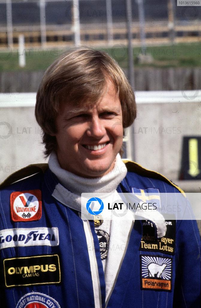 1978 Formula 1 World Championship. Ronnie Peterson (Lotus 79-Ford), portrait.  World Copyright: LAT Photographic. Ref:  P3A 06.