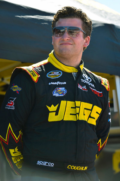 NASCAR Camping World Truck Series  Texas Roadhouse 200 Martinsville Speedway, Martinsville VA USA Friday 27 October 2017 Cody Coughlin, JEGS Toyota Tundra World Copyright: Nigel Kinrade LAT Images