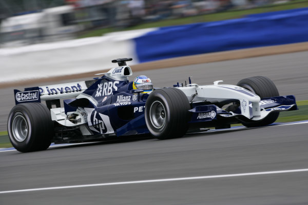 2005 British Grand Prix - Friday Practice,Silverstone, England. 8th July 2005 Nick Heidfeld, Williams F1 BMW FW27, action World Copyright: Steve Etherington/LAT Photographic ref: 48mb Hi Res Digital Image
