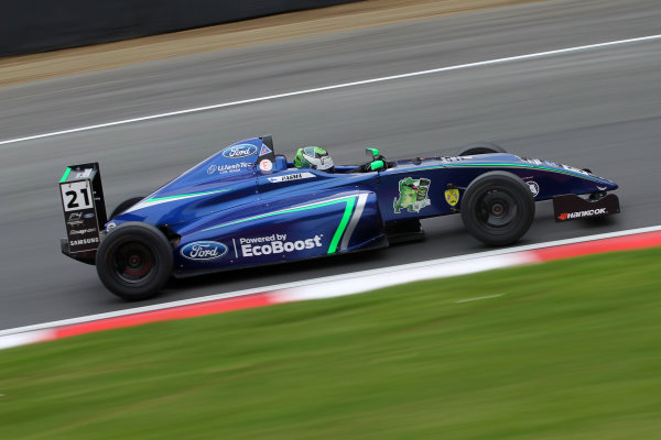 2017 British MSA F4 Championship, Brands Hatch, Kent. 30th September - 1st October 2017, Patrik Pasma (FIN) Carlin British F4 World copyright. JEP/LAT Images
