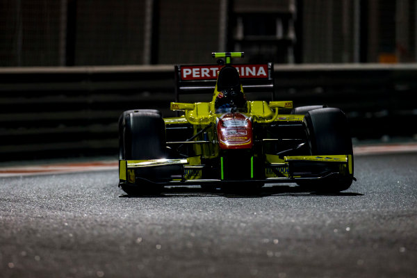 2016 GP2 Series Test 3 Yas Marina Circuit, Abu Dhabi, United Arab Emirates. Friday 2 December 2016. Daniel Juncadella (ESP, Pertamina Campos Racing)  Photo: Zak Mauger/GP2 Series Media Service. ref: Digital Image _L0U4819