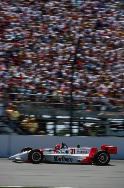 Al Unser Jr (USA) Penske PC23 Mercedes won the race.PPG IndyCar World Series, Indianapolis 500, Indianapolis, USA, 9-13 May 1994.
