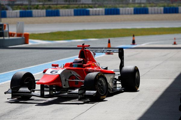 2014 GP3 Series Test 2. Jerez, Spain  Friday 11 April 2014. Jann Mardenborough (GBR, Arden International)  Photo: Sam Bloxham/GP3 Series Media Service. ref: Digital Image _G7C1797