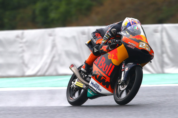 2017 Moto3 Championship  - Round 10 Brno, Czech Republic Friday 4 August 2017 Niccolo Antonelli, Red Bull KTM Ajo World Copyright: Gold and Goose / LAT Images ref: Digital Image 683736