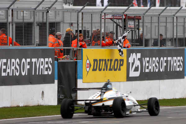 2013 MSA Formula Ford Championship of Great Britain. Donington Park, Leicestershire. 20th - 21st April 2013. Dan Cammish (GBR) JTR Formula Ford 200. World Copyright: Ebrey / LAT Photographic.
