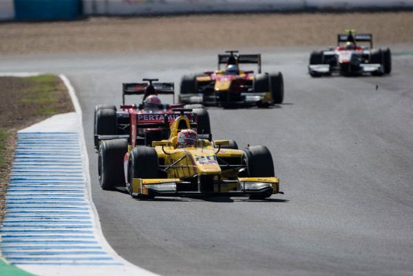 2017 FIA Formula 2 Round 10. Circuito de Jerez, Jerez, Spain. Saturday 7 October 2017. Norman Nato (FRA, Pertamina Arden).  Photo: Andrew Ferraro/FIA Formula 2. ref: Digital Image _FER1892