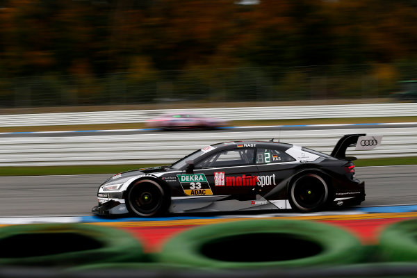 2017 DTM Round 9  Hockenheimring, Germany  Friday 13 October 2017. René Rast, Audi Sport Team Rosberg, Audi RS 5 DTM  World Copyright: Alexander Trienitz/LAT Images ref: Digital Image 2017-DTM-HH2-AT2-0366