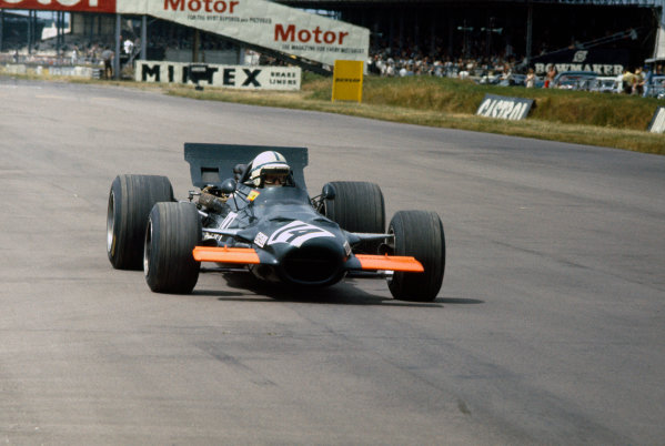 Silverstone, Great Britain. 19th July 1969.John Surtees (B.R