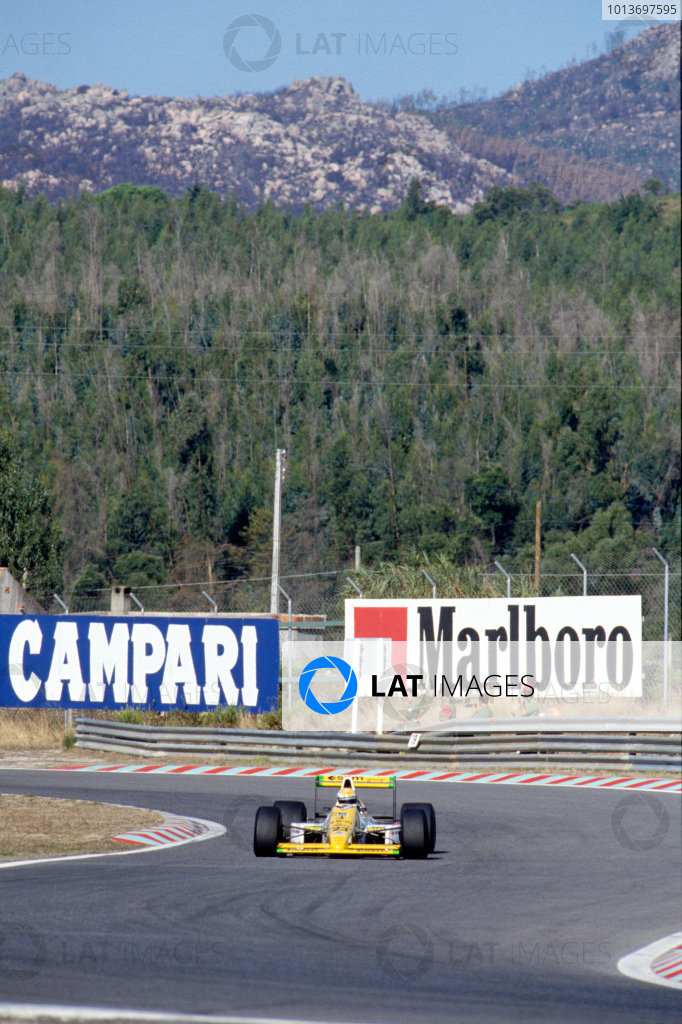 1989 Portuguese Grand Prix.