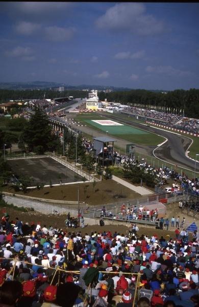 The sights of the San Marino Grand Prix San Marino Grand Prix, Imola, 1 May 1988