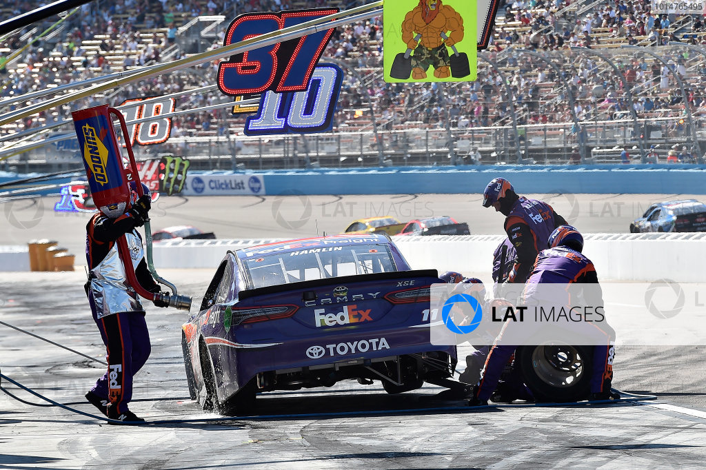 2017 Monster Energy NASCAR Cup Series Camping World 500 Phoenix International Raceway, Avondale, AZ USA Sunday 19 March 2017 Denny Hamlin, FedEx Freight Toyota Camry World Copyright: Rusty Jarrett/LAT Images ref: Digital Image 17PHX1rj_3030