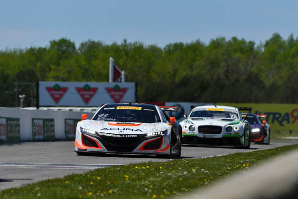 Pirelli World Challenge Victoria Day SpeedFest Weekend Canadian Tire Motorsport Park, Mosport, ON CAN Saturday 20 May 2017 Ryan Eversley/ Tom Dyer World Copyright: Richard Dole/LAT Images ref: Digital Image RD_CTMP_PWC17066