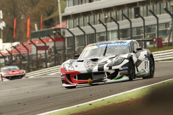 2017 Ginetta GT4 Supercup,  Brands Hatch, 1st-2nd April 2017 Tom Hibbert Ginetta G55 World Copyright. JEP/LAT Images