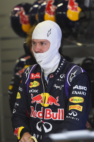 Sebastian Vettel (GER) Red Bull Racing.Formula One World Championship, Rd16, Russian Grand Prix, Qualifying, Sochi Autodrom, Sochi, Krasnodar Krai, Russia, Saturday 11 October 2014.