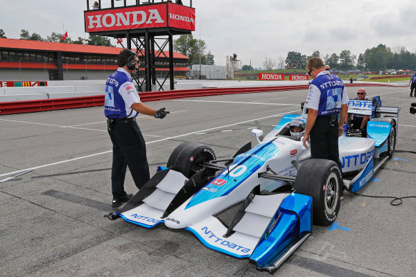 Verizon IndyCar Series Honda Indy 200 at Mid-Ohio Mid-Ohio Sports Car Course, Lexington, OH USA Friday 28 July 2017 Alexander Rossi, Andretti Herta Autosport with Curb-Agajanian Honda World Copyright: Phillip Abbott LAT Images ref: Digital Image abbott_midohio_0717_0046