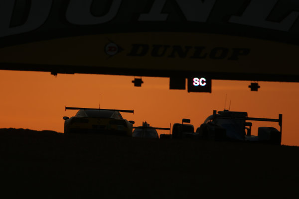 2017 Le Mans 24 Hours Circuit de la Sarthe, Le Mans, France. Sunday 18th  June 2017 #64 Corvette Racing-GM Chevrolet Corvette C7.R: Oliver Gavin, Tommy Milner, Marcel Fassler  World Copyright: JEP/LAT Images