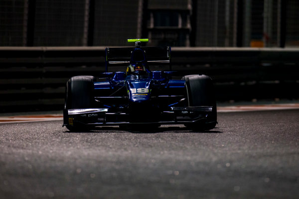 2016 GP2 Series Test 3 Yas Marina Circuit, Abu Dhabi, United Arab Emirates. Friday 2 December 2016. Sergio Sette Camara (BRA, Carlin)  Photo: Zak Mauger/GP2 Series Media Service. ref: Digital Image _L0U4793