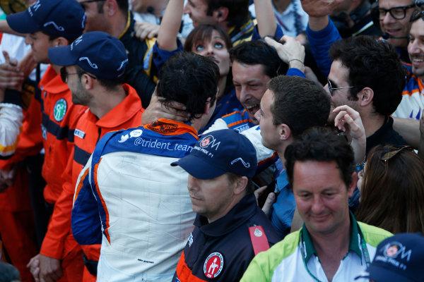 2014 GP2 Series Round 3 - Race 2 Monte Carlo, Monaco. Saturday 24 May 2014. Sergio Canamasas (CAN, Trident)  Photo: Alastair Staley/GP2 Series Media Service. ref: Digital Image _79P3967