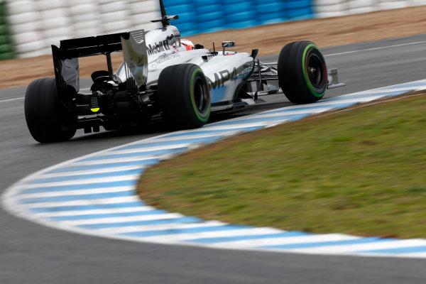 2014 F1 Pre Season Test 1 - Day 4 Circuito de Jerez, Jerez, Spain. Friday 31 January 2014. World Copyright: Andrew Ferraro/LAT Photographic. ref: Digital Image _79P7803.JPG