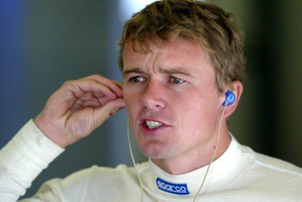 Marcel Fässler (CHE), AMG-Mercedes, Portrait. DTM Championship, Rd 8, A1-Ring, Austria. 07 September 2003. DIGITAL IMAGE