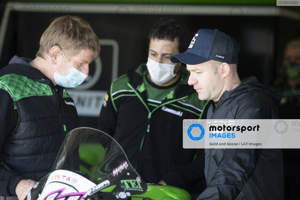 Chris Pike, Lucas Mahias, Kawasaki Puccetti Racing.