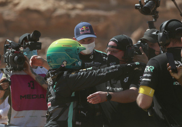 Molly Taylor (AUS), Rosberg X Racing celebrates