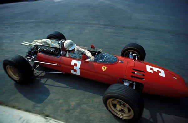 Mike Parkes (GBR) Ferrari 312, had an accident on lap 1.Formula One World Championship, Rd4, Belgian Grand Prix, Spa Francorchamps, Belgium. 18 June 1967.BEST IMAGE