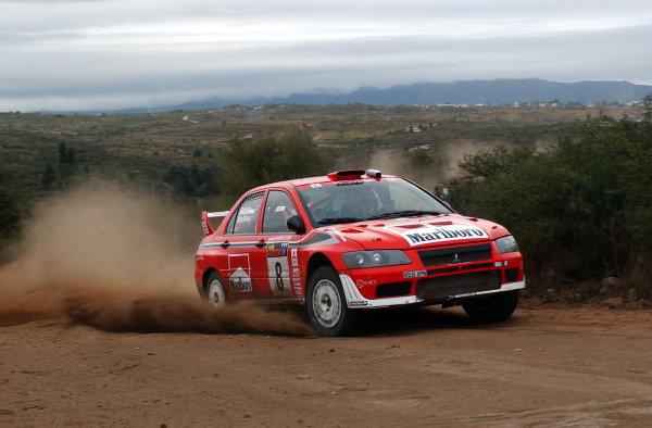 World Rally Championship, Rally of Argentina, May 17-20, 2002.Alister McRae during shakedown.Photo: Ralph Hardwick/LAT