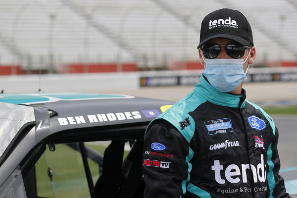 Ben Rhodes, ThorSport Racing Ford Tenda Heal, Copyright: Chris Graythen/Getty Images.