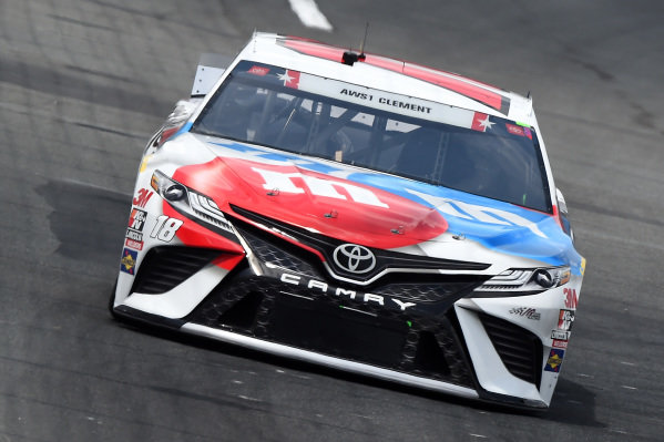 Kyle Busch, Joe Gibbs Racing Toyota M&M's Red White Blue, Copyright: Jared C. Tilton/Getty Images.