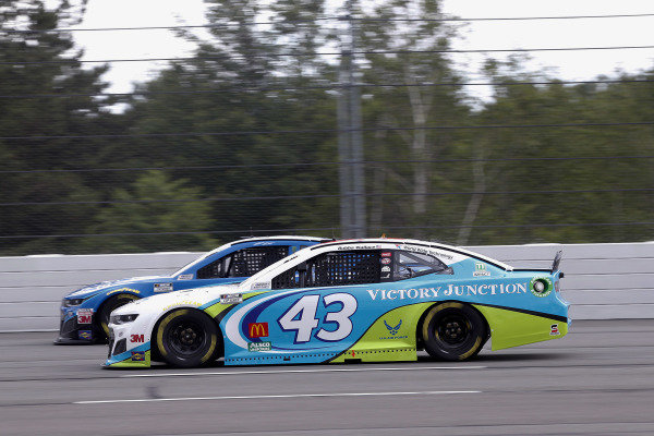 #43: Darrell Wallace Jr., Richard Petty Motorsports, Chevrolet Camaro Victory Junction